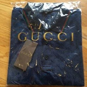 8fd350ac3a1 Gucci AAA Shirts - Gucci Signature GG Polos - AAA Quality